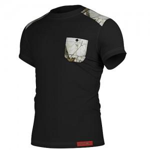 Тениска 603 Black & Snow