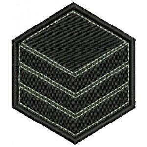 Знак Главен сержант на бригада